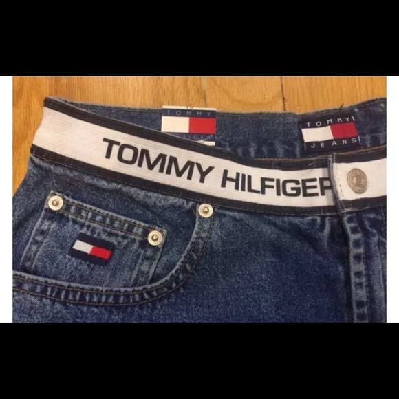 dc7b6fa19 Tommy Hilfiger Shorts | Vintage Spell Out Elastic Waist | Poshmark